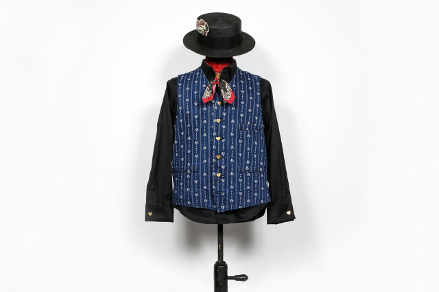 "BY GLAD HAND HEARTLAND - VEST INDIGO ""VINTAGE FINISH"""