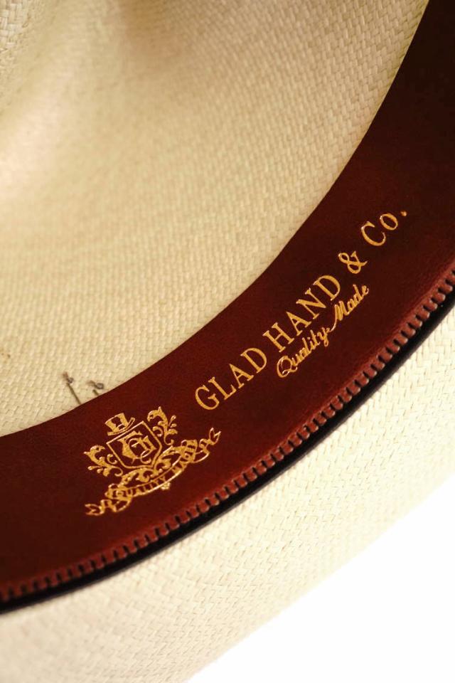 GLAD HAND & Co. -  HAT MEDALLION NATURAL