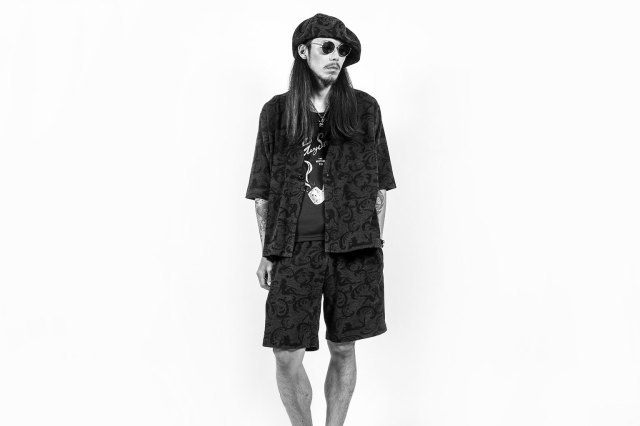 GANGSTERVILLE SPEAKEASY - H/S CARDIGAN BLACK