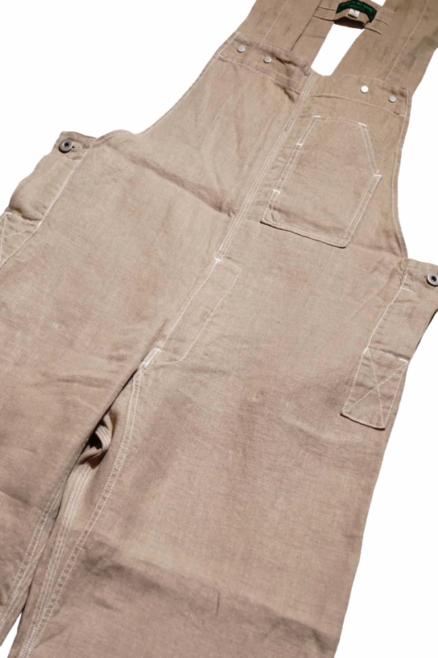 NORTH NO NAME 30's TYPE LINEN OVERALL BEIGE