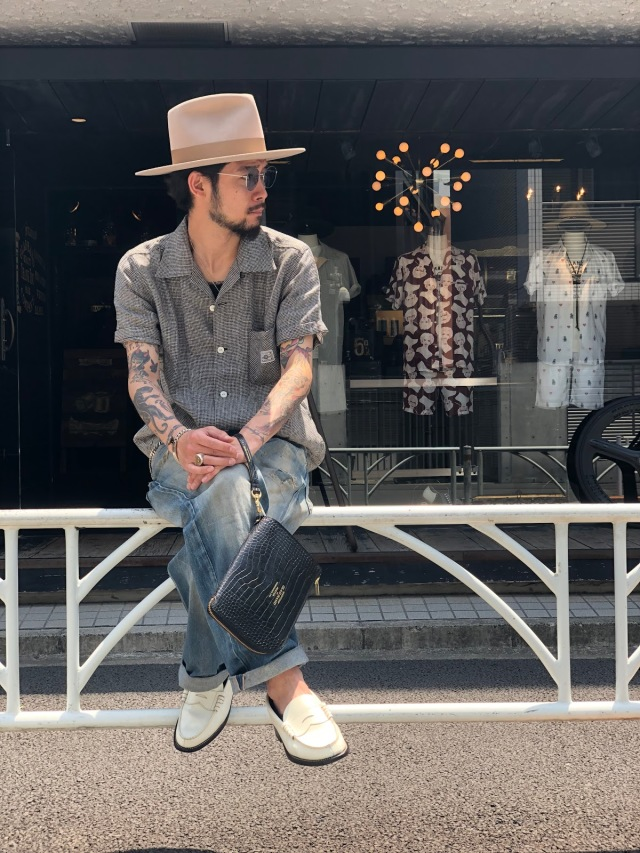 BY GLAD HAND LOUNGE - S/S SHIRTS IVORY