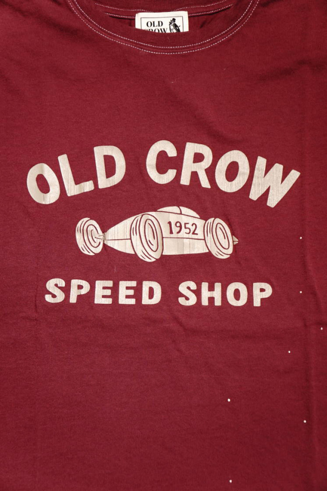 OLD CROW  BELLY TANK - S/S T-SHIRTS BURGUNDY