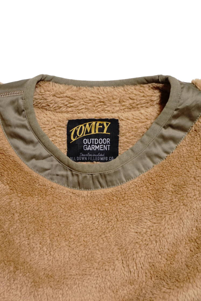 "COMFY OUTDOOR GARMENT ""PRECOLD FLEECE TEE"" BEIGE"