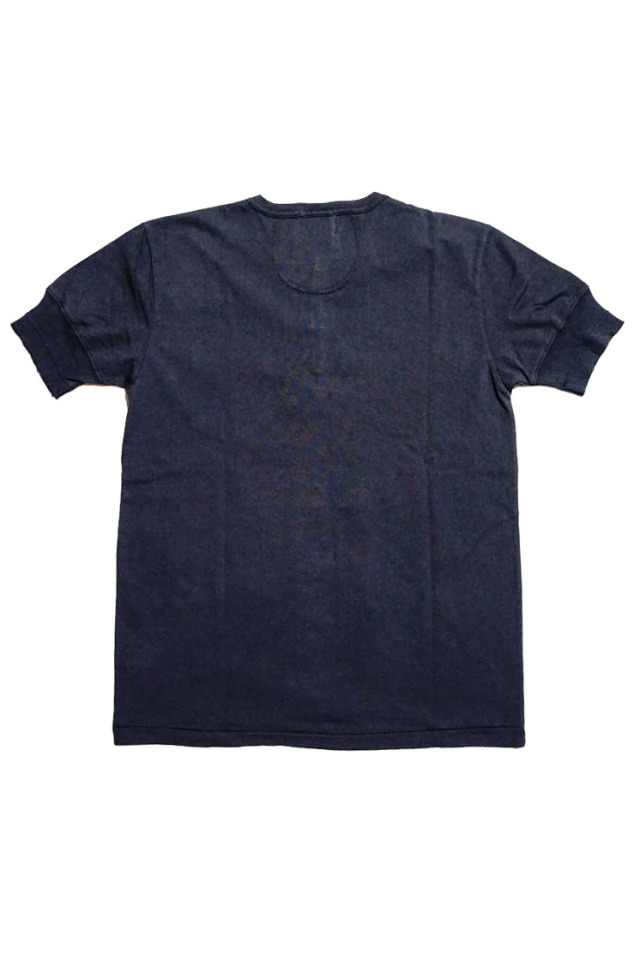 GANGSTERVILLE STIMULATOR DAILY - S/S HENRY NECK T-SHIRTS BLACK