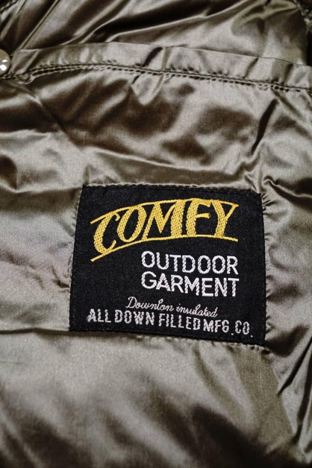 "COMFY OUTDOOR GARMENT ""CMF DOWN JACKET"" KHAKI"