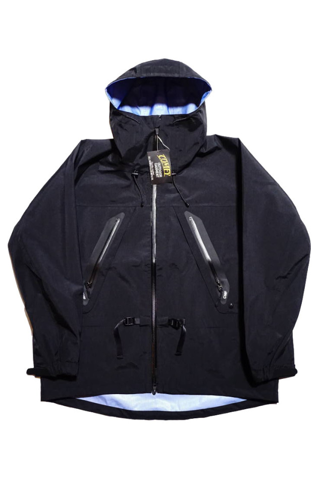 "COMFY OUTDOOR GARMENT ""3LAY ALPHINE JACKET"" BLACK"
