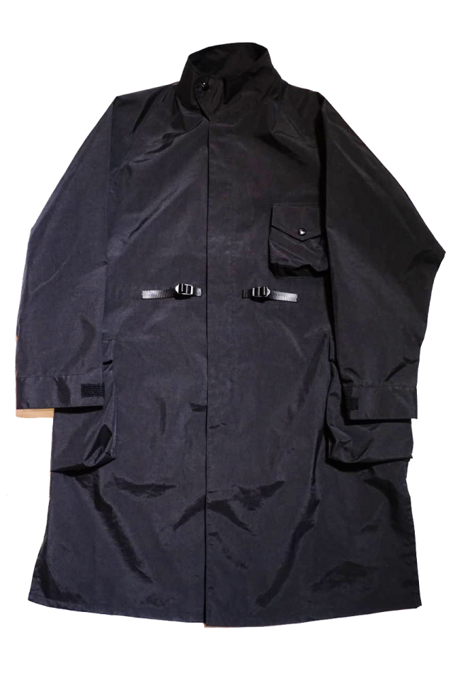 "COMFY OUTDOOR GARMENT ""EXPLOIRING COAT 3LAYER"" BLACK"