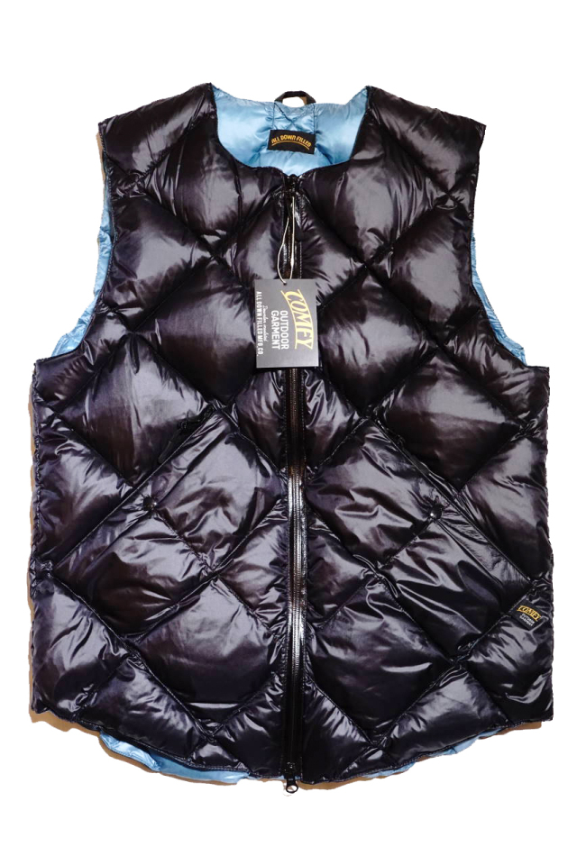 "COMFY OUTDOOR GARMENT ""INNER DOWN VEST"" BLACK"