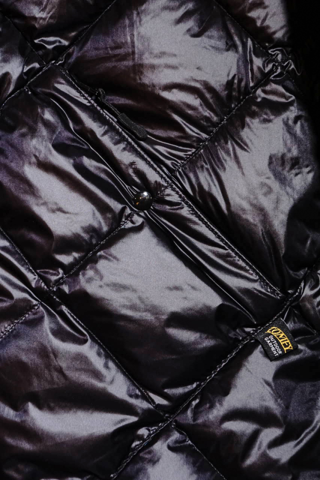 "COMFY OUTDOOR GARMENT ""CMF INNER DOWN JACKET"" BLACK"