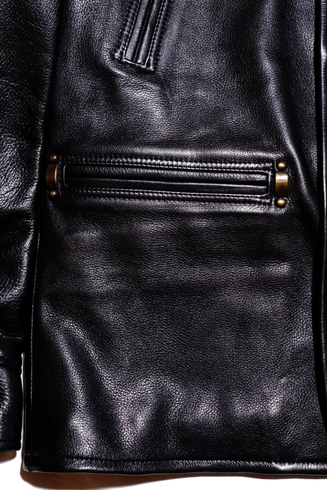 """BY GLAD HAND GOODFELLOWS """"COW HIDE"""" BLACK"""