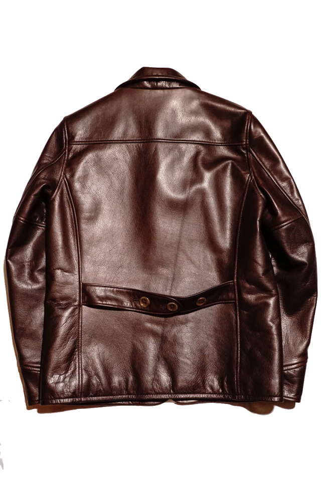 "BY GLAD HAND GOODFELLOWS ""COW HIDE"" BROWN"