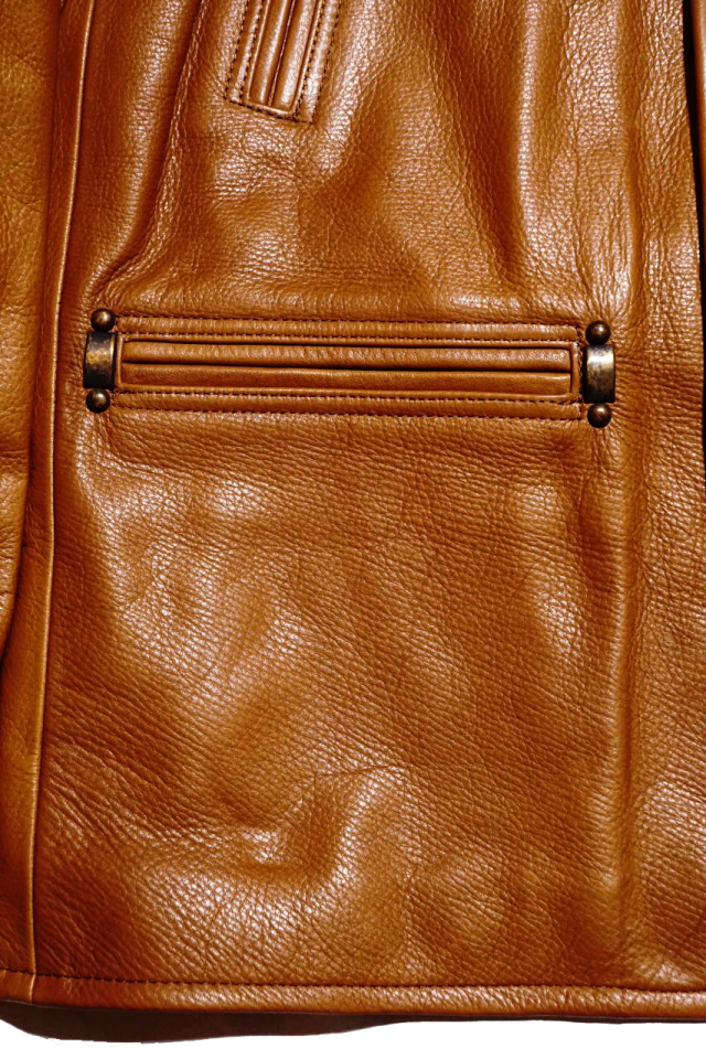 "BY GLAD HAND GOODFELLOWS ""COW HIDE"" CAMEL"