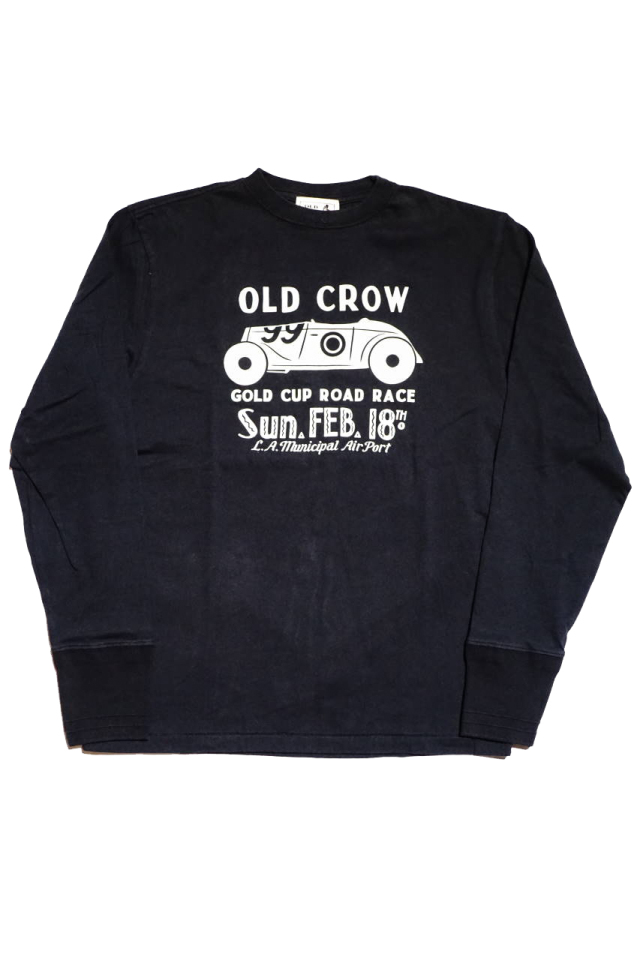 OLD CROW GOLD CUP - L/S T-SHIRTS BLACK