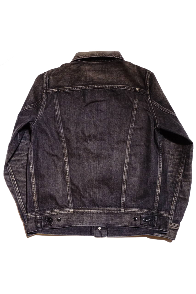 "GANGSTERVILLE THUG RIDE - DENIM JACKET BLACK ""VINTAGE FINISH"""