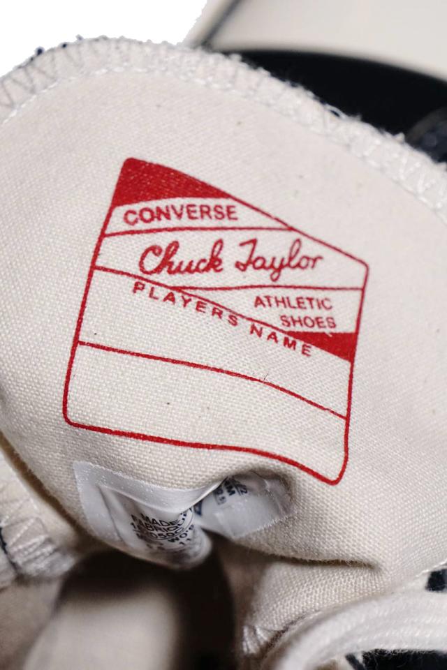 """""""CONVERSE CT70""""'Chuck Taylor 70 HI [BLACK/BLACK/EGRET]"""