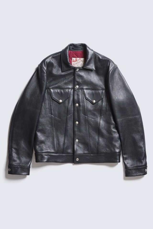ADDICT CLOTHES JAPAN AD-08 GRANADA JACKET (SHEEP) BLACK