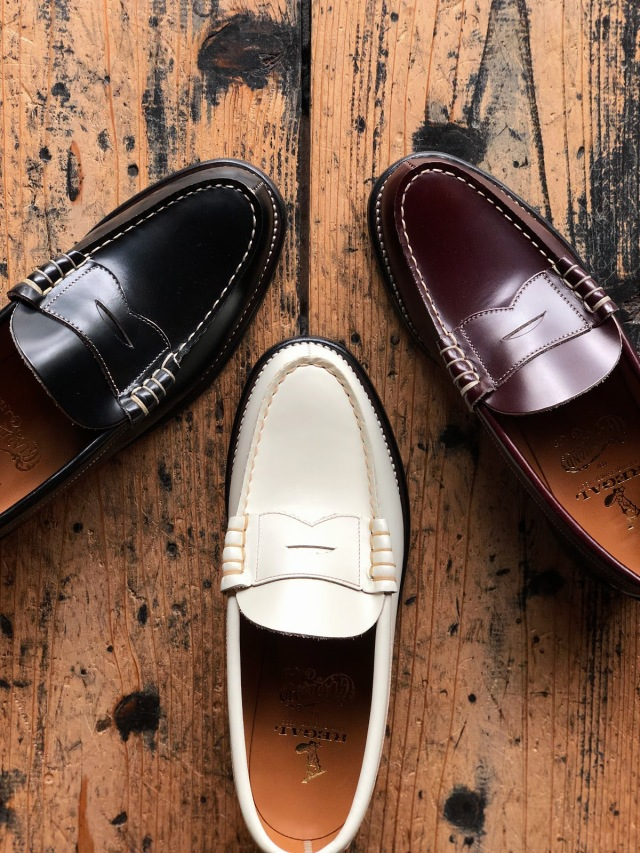 GLAD HAND × REGAL COIN LOAFERS - SHOES WHITE