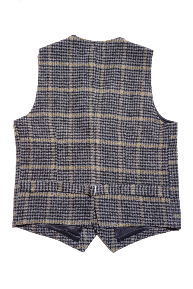 BY GLAD HAND BROOKLYN - TWEED VEST GRAY