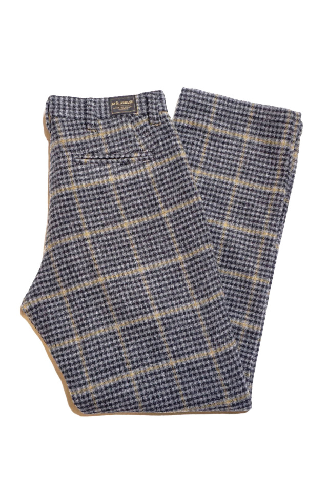 BY GLAD HAND BROOKLYN - TWEED TROUSERS GRAY