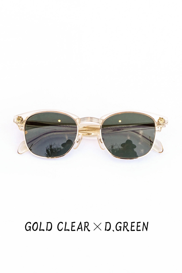 "GLAD HAND×丹羽雅彦 COLLINS - GLASSES ""GOLD"""