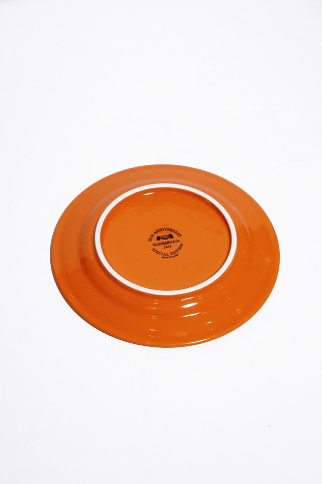 """GLAD HAND PLATE """"10th ANNIVERSARY"""" SMALL"""