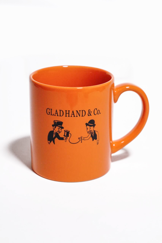 "GLAD HAND MUG ""10th ANNIVERSARY"""