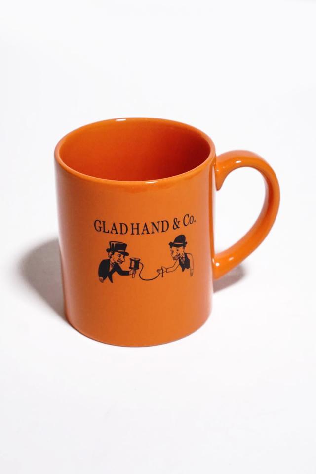 "GLAD HAND MUG ""10th ANNIVERSARY"""