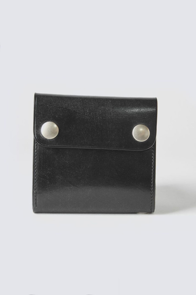 ADDICT CLOTHES JAPAN ACV-W02S SHORT TRACKER WALLET BLACK