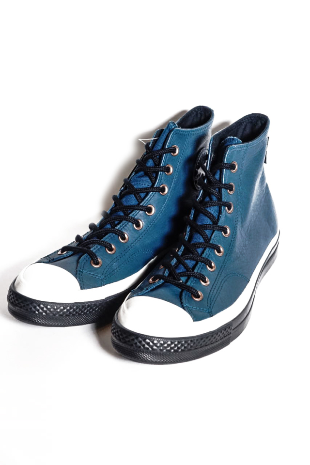 """CONVERSE CT70""GORE-TEX Leather 'Chuck Taylor 70 HI [MIDNIGHT TURQUOISE/EGRET/BLACK]"