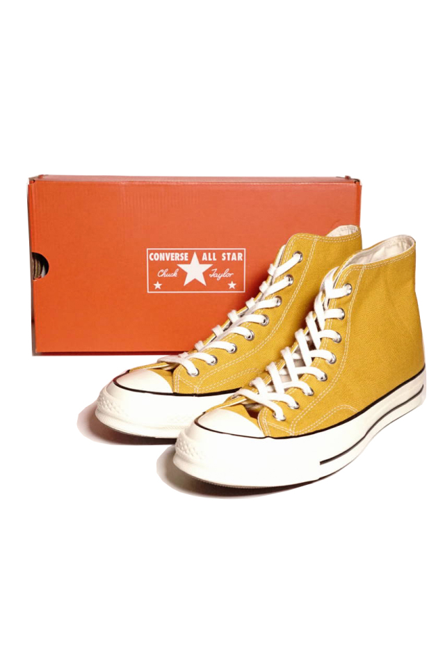 """CONVERSE CT70""'Chuck Taylor 70 HI [SUNFLOWER/BLACK/EG]"