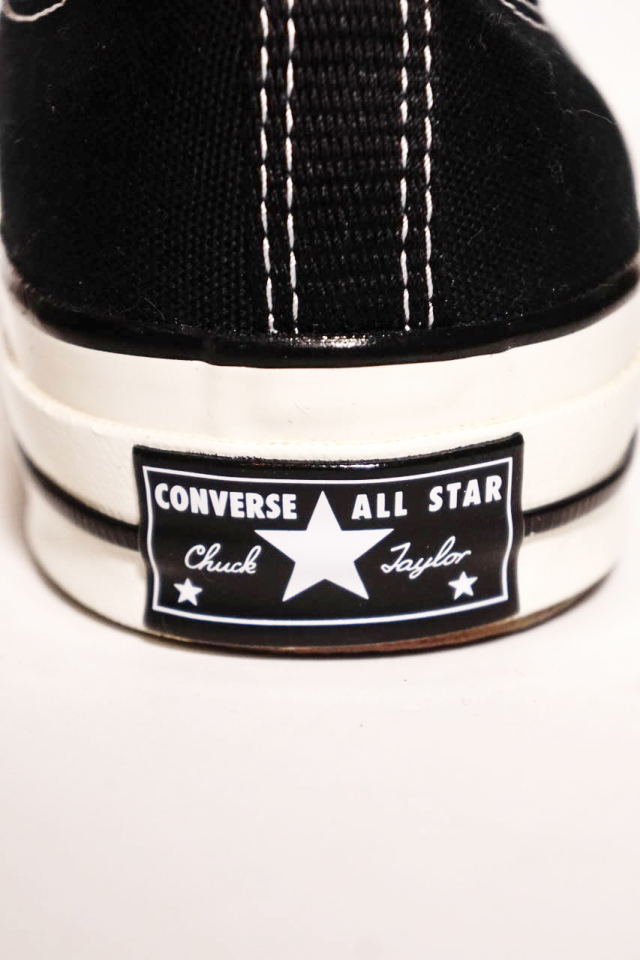 """CONVERSE CT70""'Chuck Taylor 70 OX [BLACK/BLACK/EGRET]"