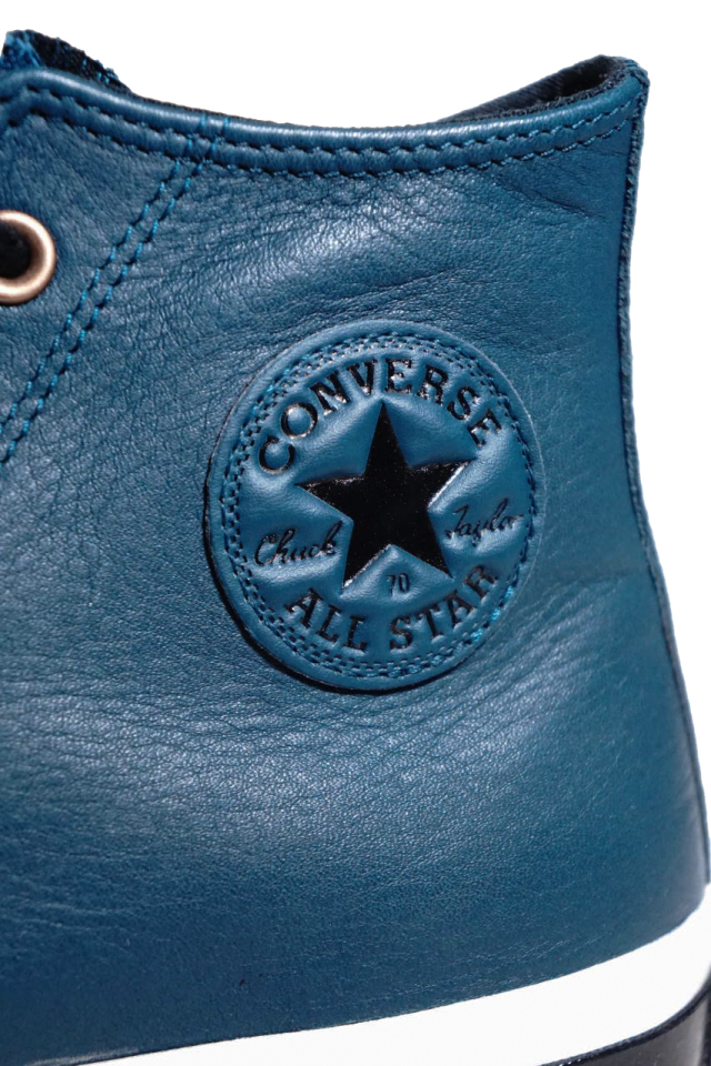 """""""CONVERSE CT70""""GORE-TEX Leather 'Chuck Taylor 70 HI [MIDNIGHT TURQUOISE/EGRET/BLACK]"""