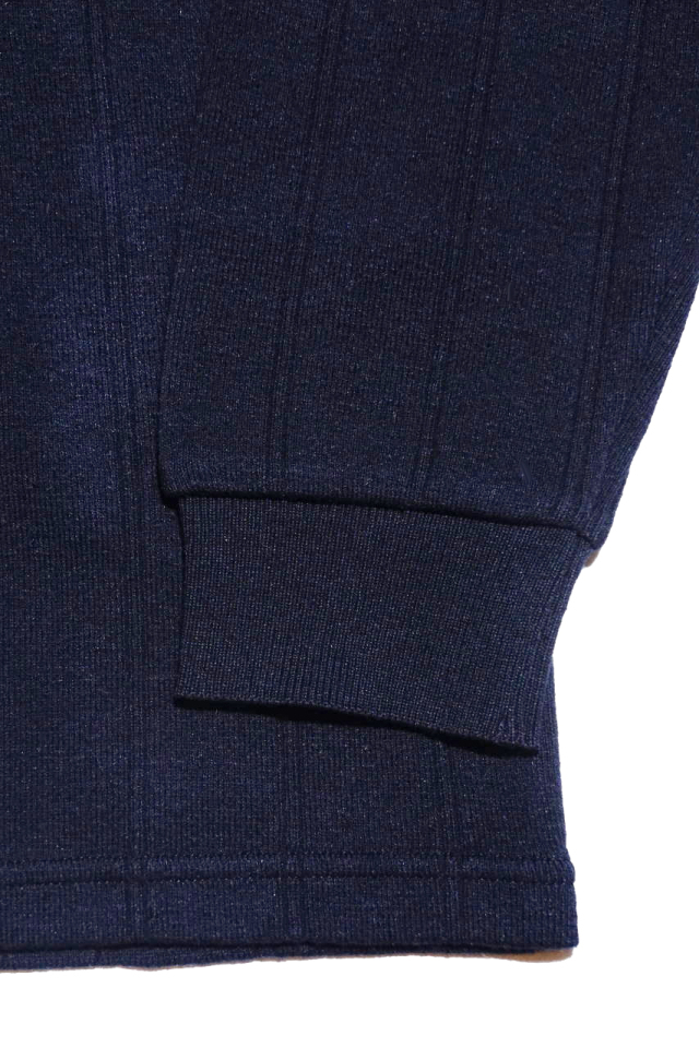 BY GLAD HAND DROP STITCH - L/S POLO SHIRTS NAVY