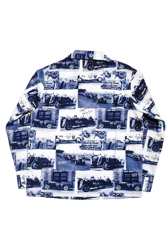 OLD CROW RACING FOR LIFE - L/S SHIRTS NAVY
