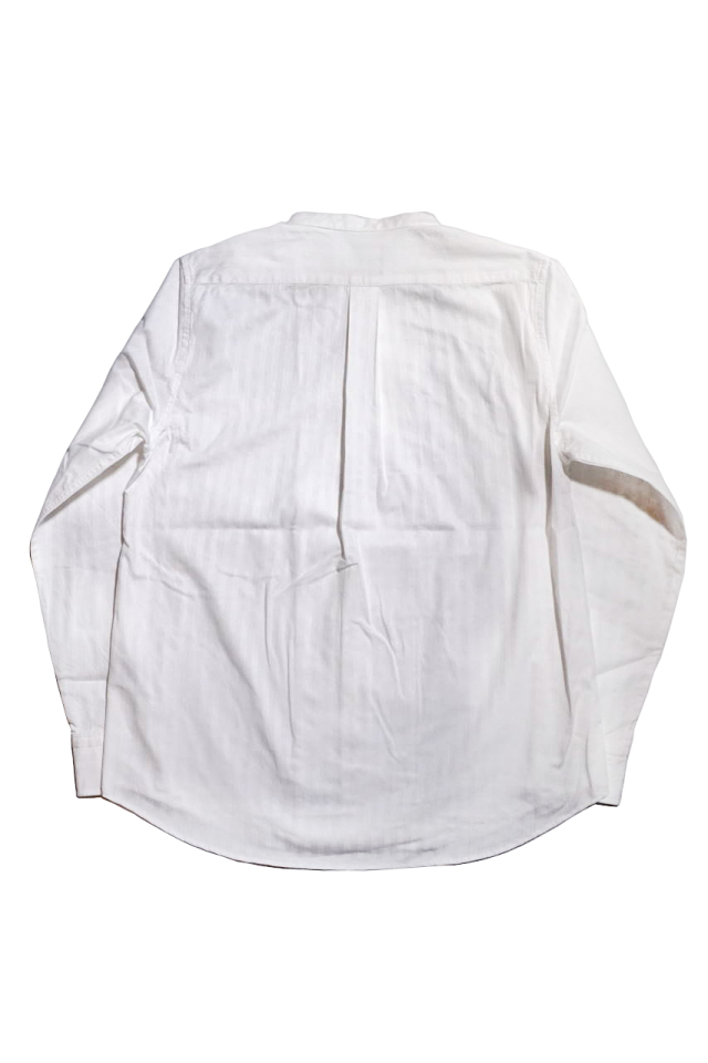 GANGSTERVILLE SOCIAL LOUNGE - L/S SHIRTS WHITE