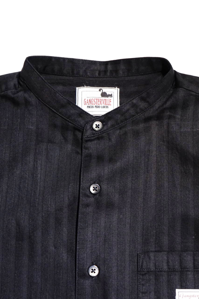 GANGSTERVILLE SOCIAL LOUNGE - L/S SHIRTS BLACK