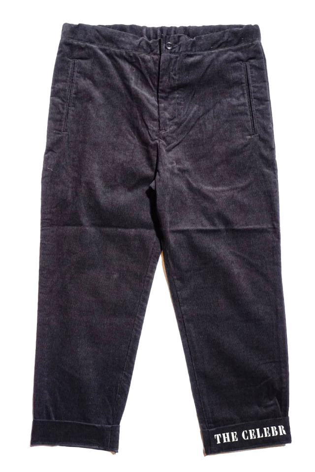 BY GLAD HAND GLADDEN - CORDUROY PANTS BLACK