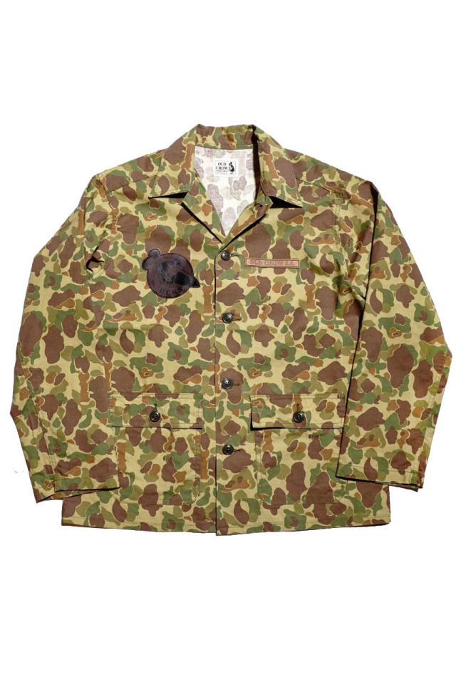 OLD CROW OLDROD M - JACKET CAMO