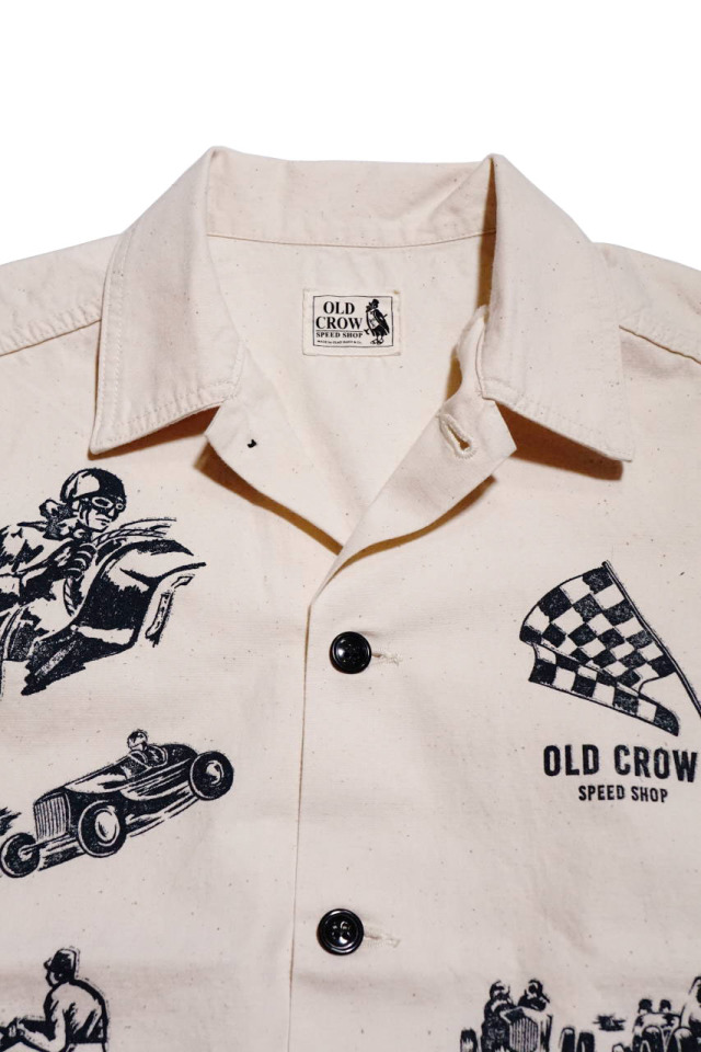 OLD CROW MEMORIES OF RACE - JACKET IVORY
