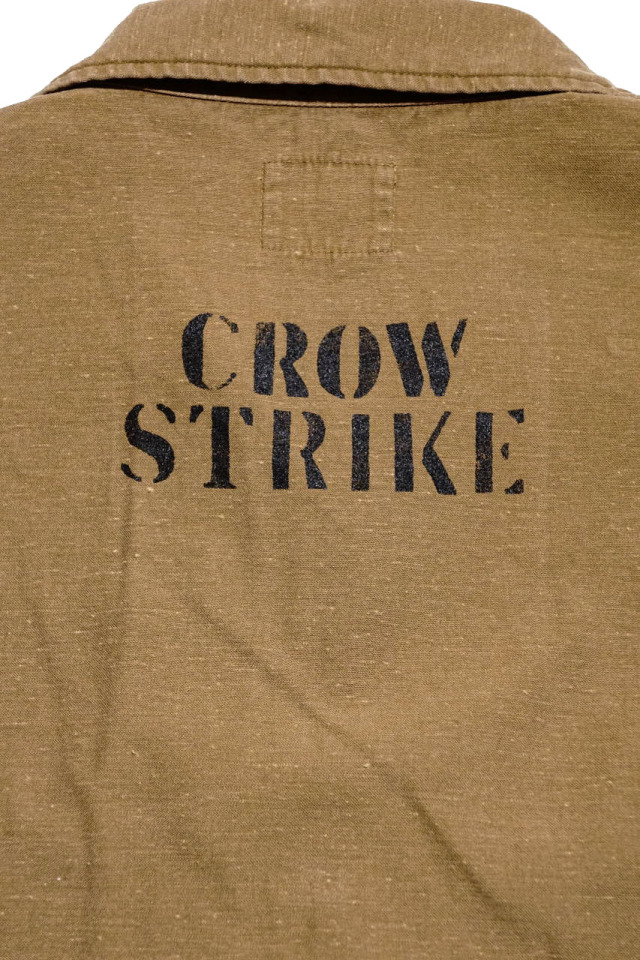 OLD CROW CROW STRIKE - L/S SHIRTS BEIGE