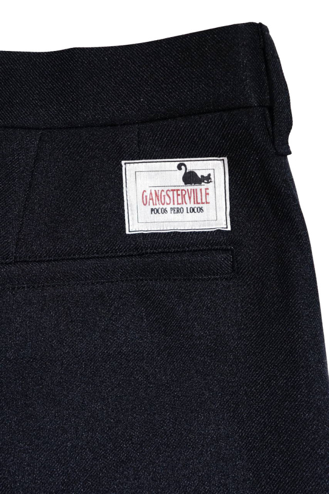 GANGSTERVILLE REBEL - PANTS BLACK