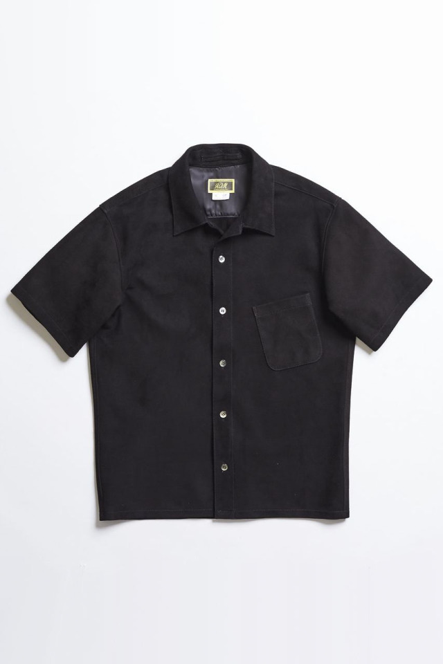 ADDICT CLOTHES JAPAN ACV-LSH01 SUEDE OPENCOLLAR SHIRTS