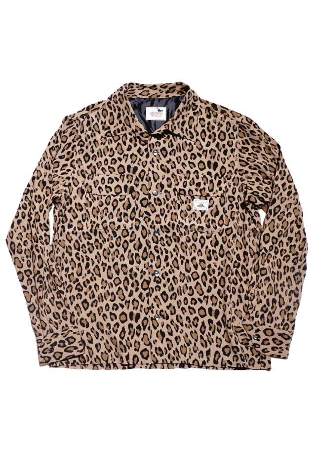 GANGSTERVILLE RISE ABOVE - L/S SHIRTS BROWN