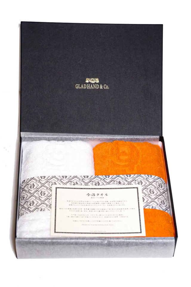 GLAD HAND & Co. FAMILY CREST - IMABARI TOWEL (2-PACK) FACE
