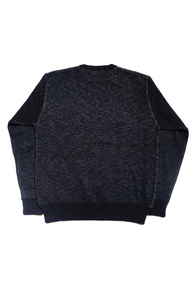 BY GLAD HAND HEARTLAND - L/S KNIT SWEATER BLACK