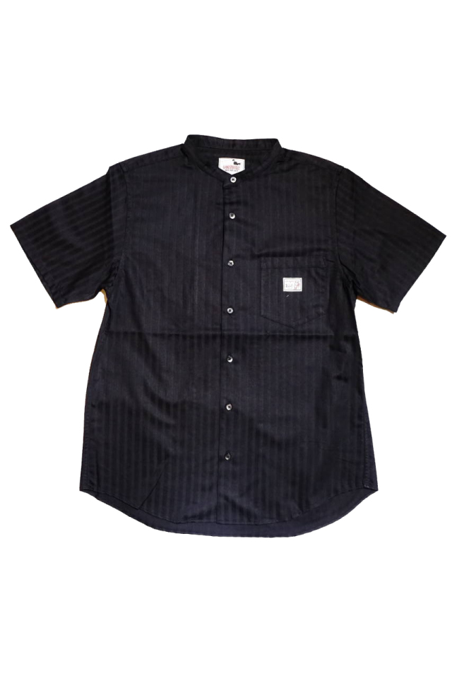 GANGSTERVILLE SOCIAL LOUNGE - S/S SHIRTS BLACK