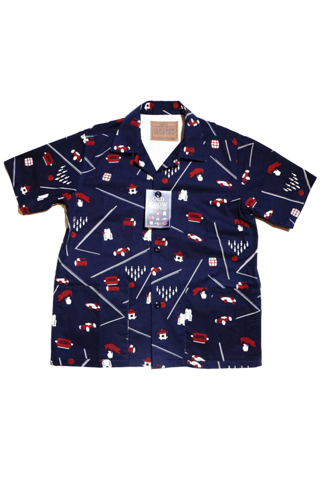 OLD CROW 1933 - S/S SHIRTS NAVY