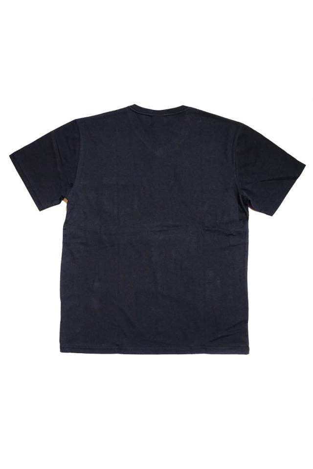BY GLAD HAND TRADEMARK - S/S V-NECK T-SHIRTS BLACK