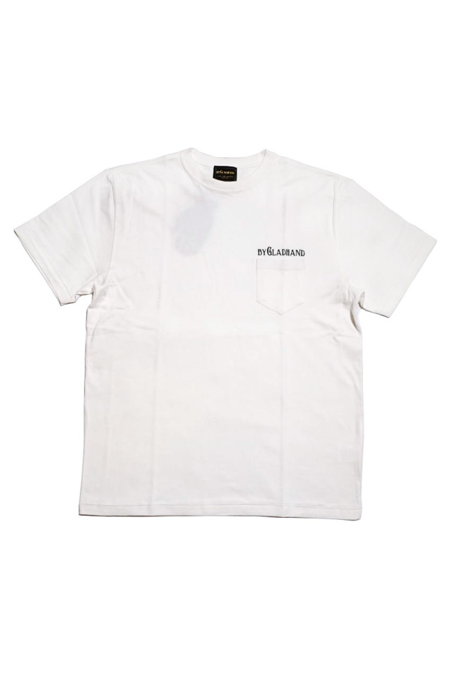 BY GLAD HAND TRADEMARK - S/S T-SHIRTS WHITE