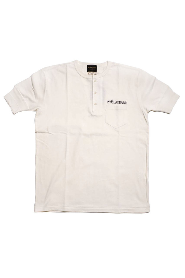 BY GLAD HAND TRADEMARK - S/S HENRY T-SHIRTS WHITE